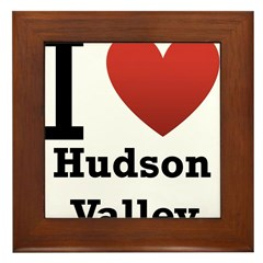 I Love Hudson Valley Framed Tile
