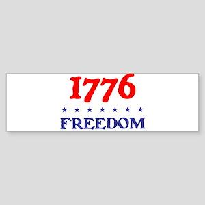 1776 FREEDOM Sticker (Bumper)
