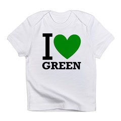 I <3 Green Infant T-Shirt