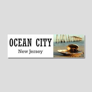 I <3 Ocean City Car Magnet 10 x 3