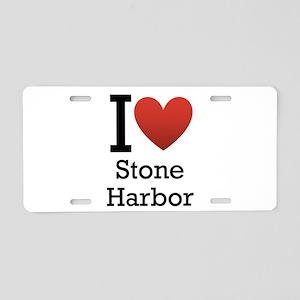 Stone Harbor Aluminum License Plate