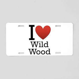 Wildwood Aluminum License Plate