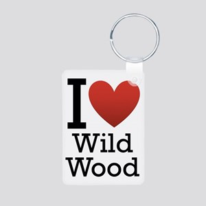 Wildwood Aluminum Photo Keychain