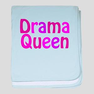 Drama Queen baby blanket