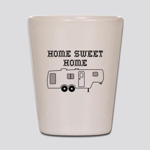 Home Sweet Home Fifth Wheel Shot Glass
