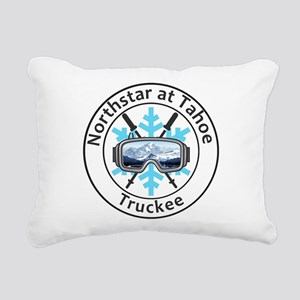 Northstar at Tahoe - T Rectangular Canvas Pillow