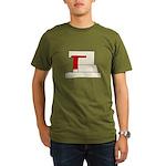 Calli Organic Men's T-Shirt (dark)
