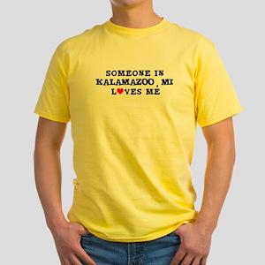 Someone in Kalamazoo Yellow T-Shirt