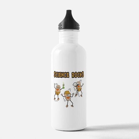 Science Rocks Water Bottle