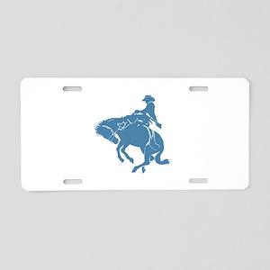 Vaquero Aluminum License Plate