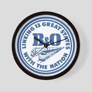 Baltimore and Ohio 13 states railway de Wall Clock
