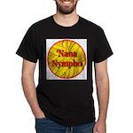 'Nana Nympho Black T-Shirt