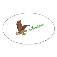 Utuado Sticker (Oval)