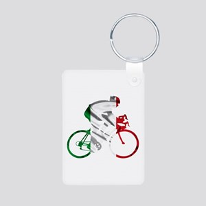 Giro d'Italia Aluminum Photo Keychain