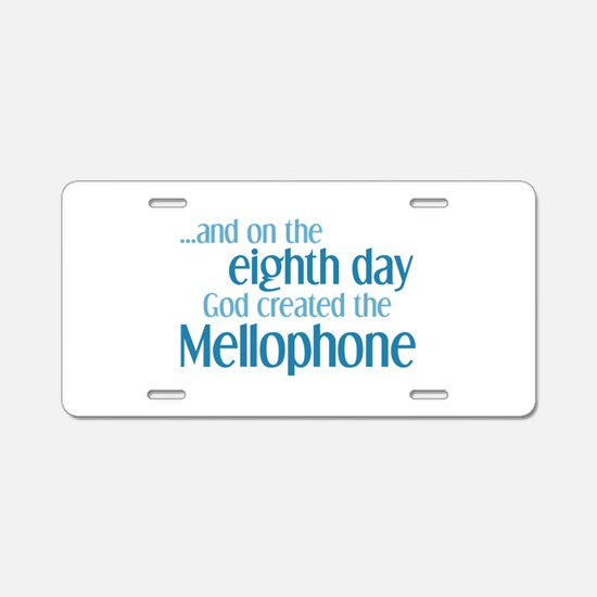 Mellophone Creation Aluminum License Plate