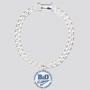 Baltimore and Ohio 13 st Charm Bracelet, One Charm