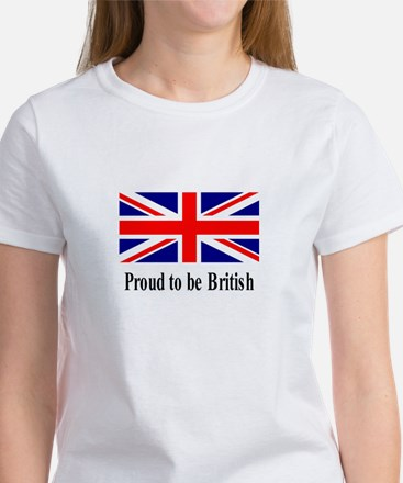 Proud to be British Women's T-Shirt