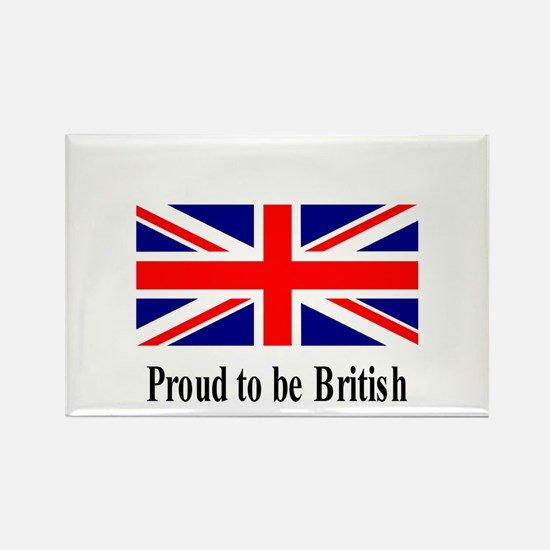 Proud to be British Rectangle Magnet