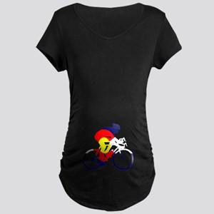 Colorado Cycling Maternity Dark T-Shirt