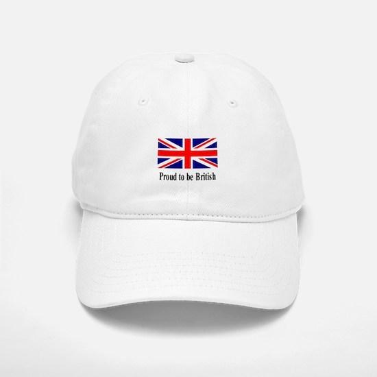 Proud to be British Baseball Baseball Cap