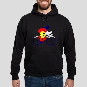 Colorado Cycling Hoodie (dark)