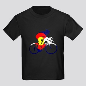 Colorado Cycling Kids Dark T-Shirt