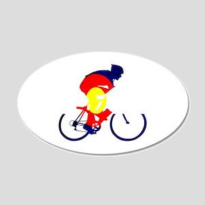 Colorado Cycling 22x14 Oval Wall Peel