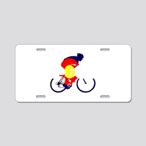 Colorado Cycling Aluminum License Plate