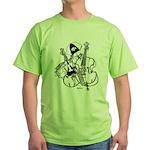 Iowa City Bass Day Green T-Shirt