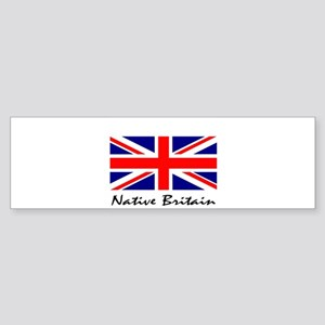 Native Britain Bumper Sticker