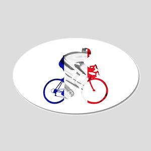 le Tour de France 22x14 Oval Wall Peel