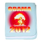 Obama 2012 - End of the World baby blanket