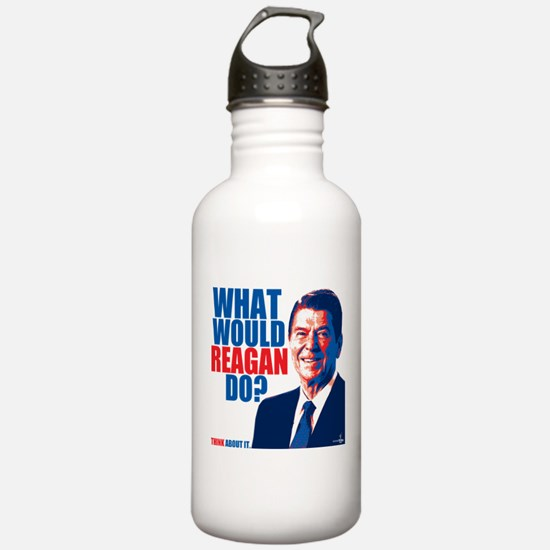 What Would Reagan Do? Design Sports Water Bottle