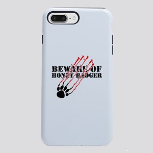 Beware of honey badger iPhone 7 Plus Tough Case