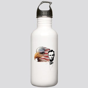 Abraham Lincoln Quote 1 Stainless Water Bottle 1.0