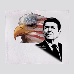 Ronald Reagan Quote 6 Throw Blanket