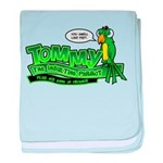 Tommy the Insulting Parrot Lo baby blanket