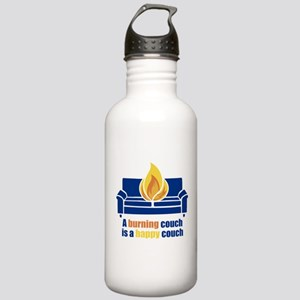 Happy Couch Stainless Water Bottle 1.0L