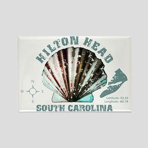 Hilton Head South Carolina Rectangle Magnet