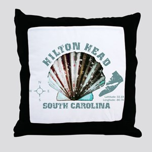 Hilton Head South Carolina Throw Pillow