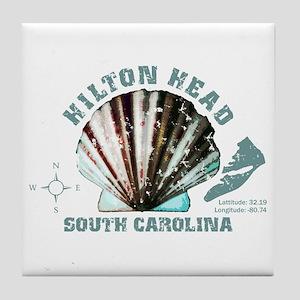 Hilton Head South Carolina Tile Coaster