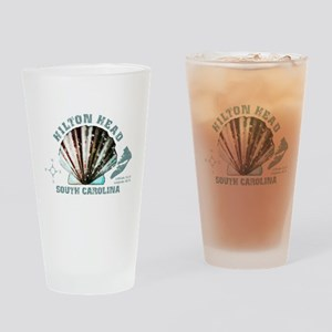 Hilton Head South Carolina Drinking Glass