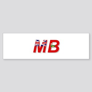 Manitoba MB Sticker (Bumper)