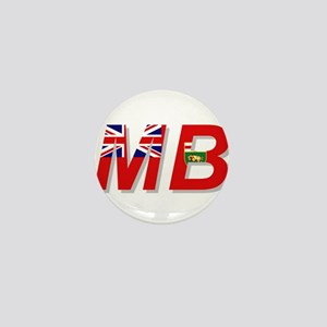 Manitoba MB Mini Button