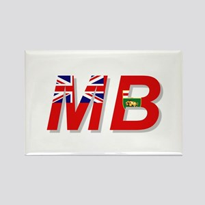 Manitoba MB Rectangle Magnet