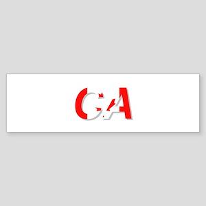 Canada CA Sticker (Bumper)