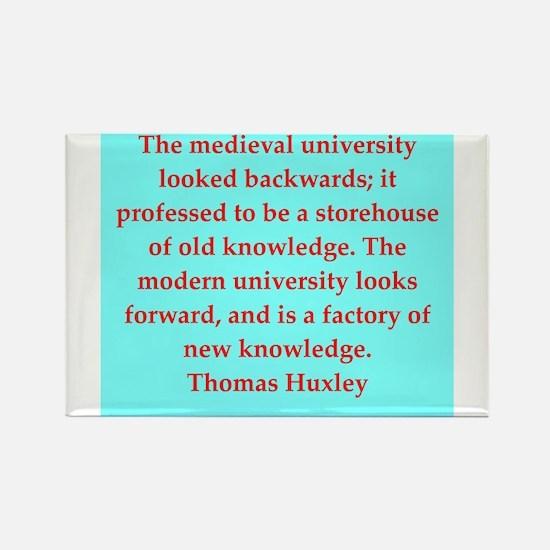 Thomas Huxley quotes Rectangle Magnet
