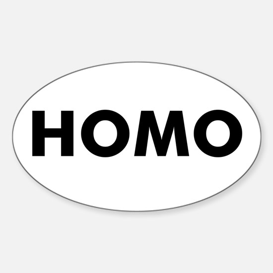 HOMO Oval Decal