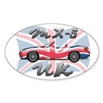 Flag-UK-b-NC Sticker