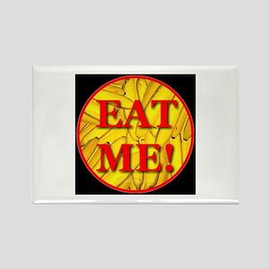 Eat Me Midnight Black Rectangle Magnet
